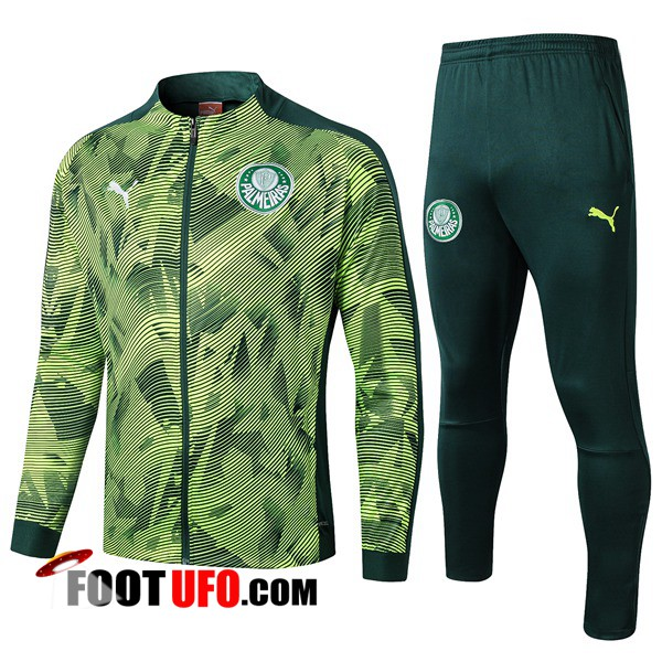 Ensemble Survetement de Foot - Veste Palmeiras Vert 2019/2020