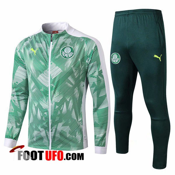 Ensemble Survetement de Foot - Veste Palmeiras Vert/Blanc 2019/2020