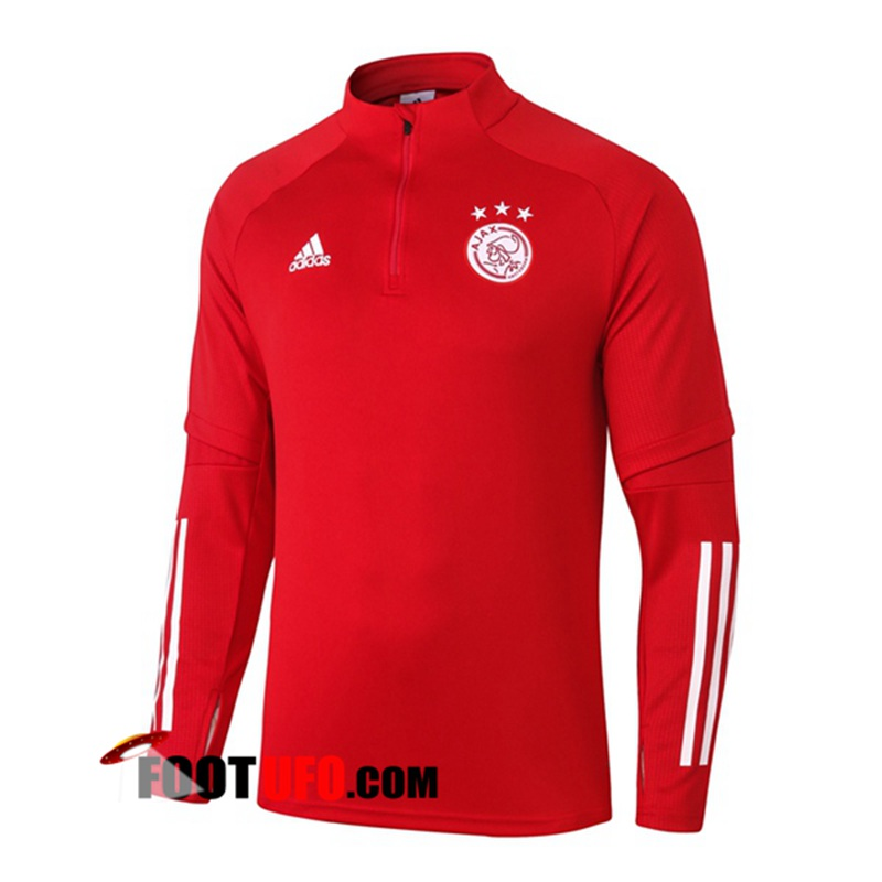 Sweatshirt Training AFC Ajax Rouge 2020/2021