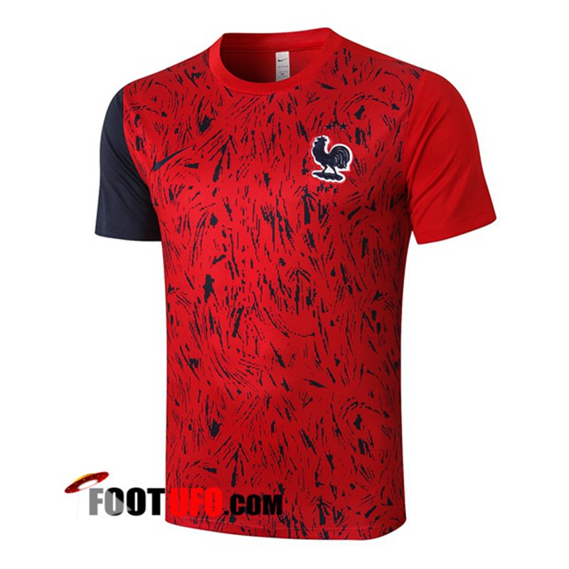 Training T-Shirts France Rouge 2020/2021