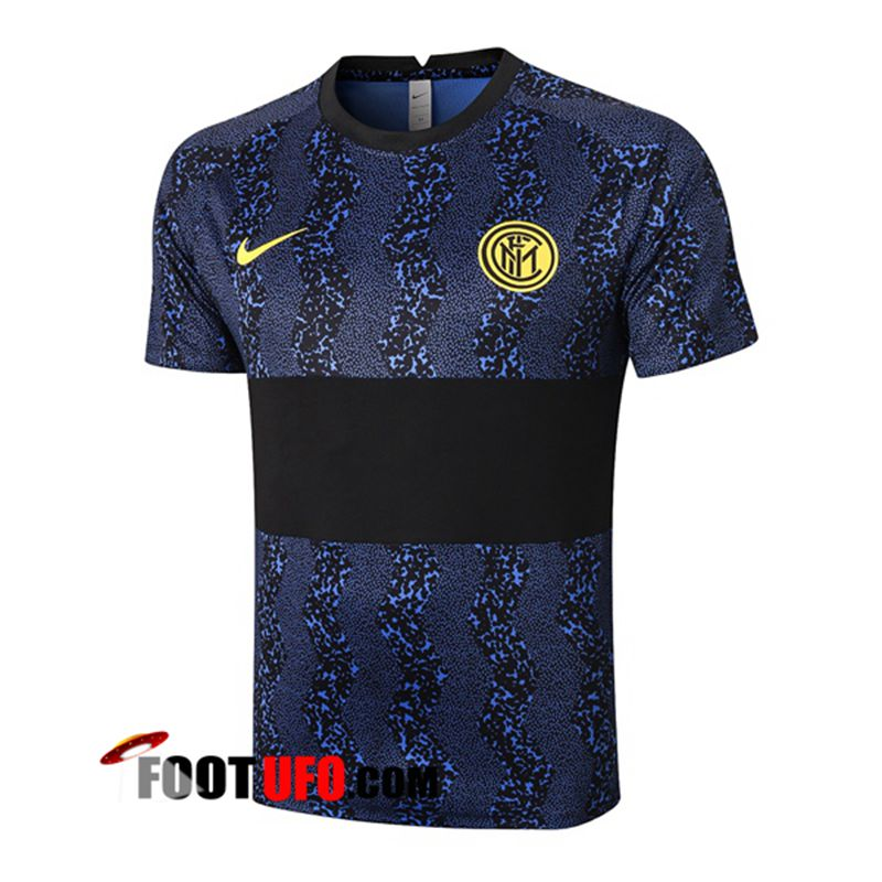 Training T-Shirts Inter Milan Noir 2020/2021