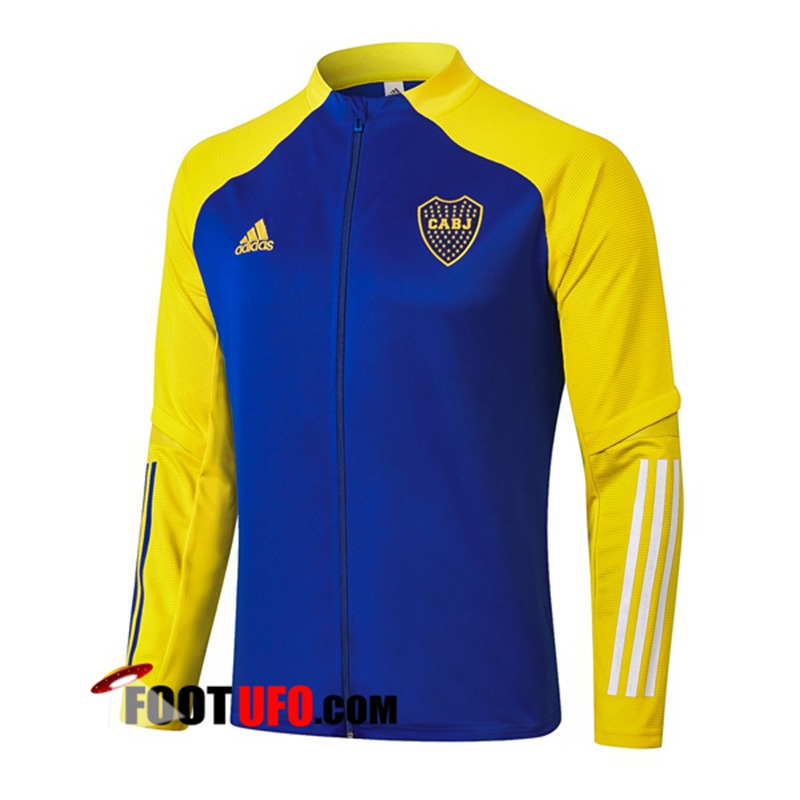 Veste Foot Boca Juniors Bleu 2020/2021