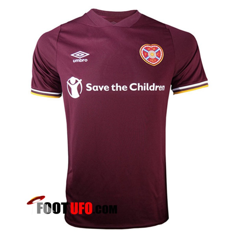 Maillot de Foot Heart of Midlothian Domicile 2020/2021