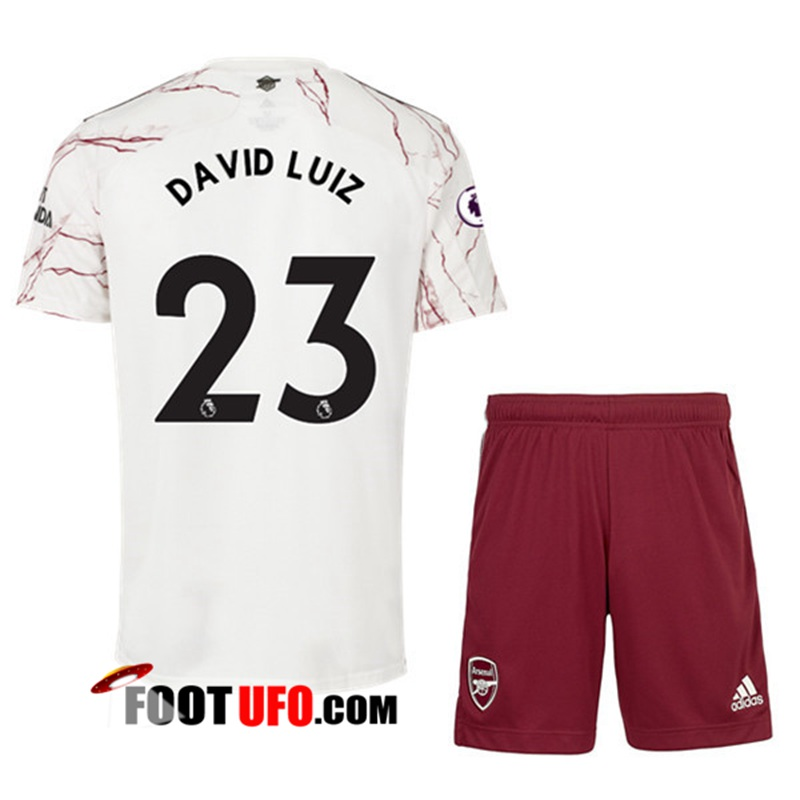 Maillot Foot Arsenal (David Luiz 23) Enfant Exterieur 2020/2021