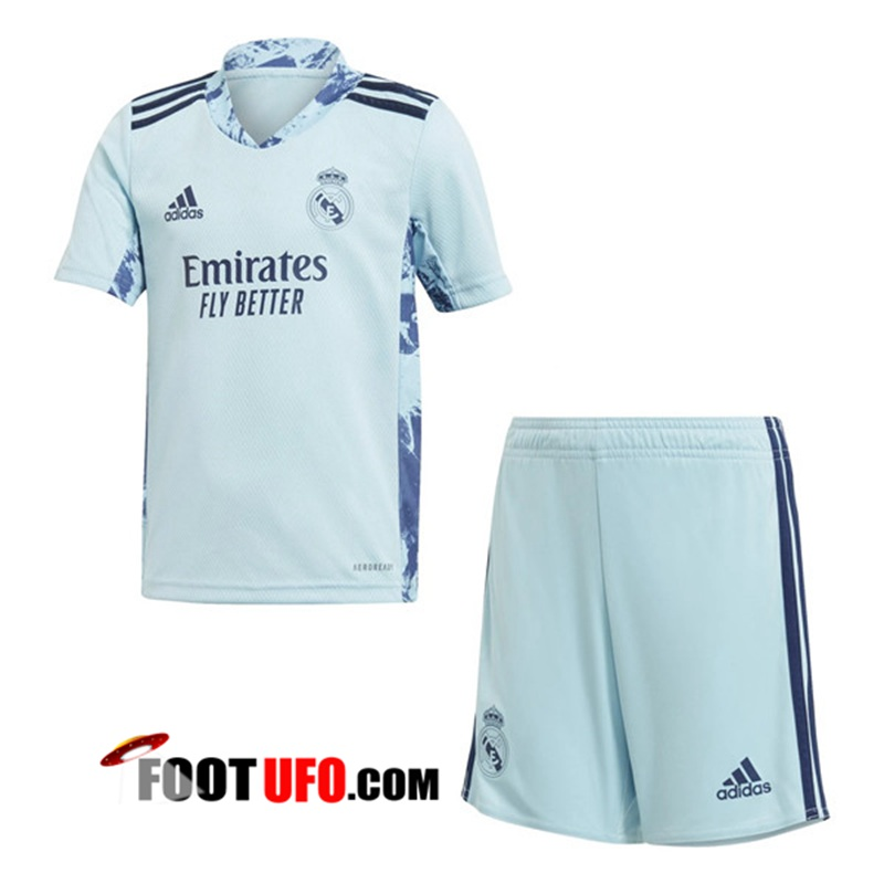 Maillot Real Madrid Enfant Gardien de But Bleu 2020/2021