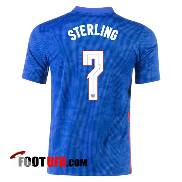 11Foots-fr Maillot Equipe Foot Angleterre (Sterling 7) Exterieur 2020/2021