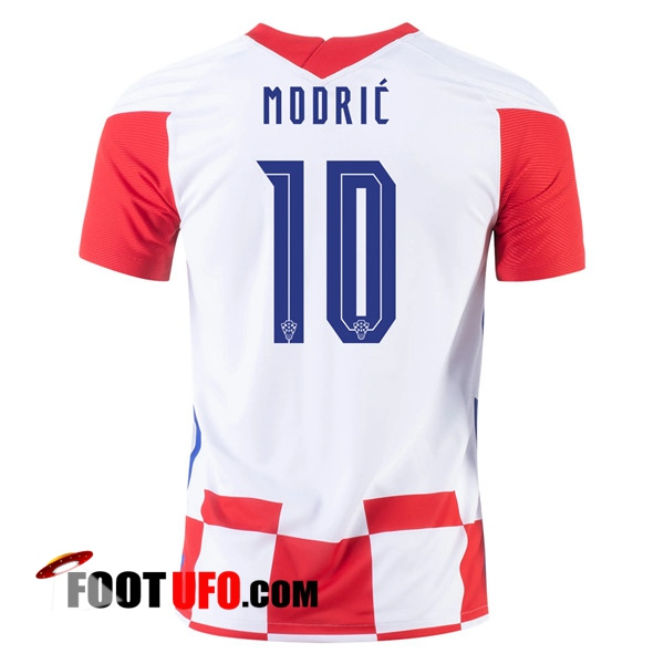 11Foots-fr Maillot Equipe Foot Croatie (MODRIC 10) Domicile 2020/2021