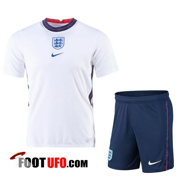 11Foots-fr Ensemble Maillot Foot Angleterre Domicile + Short 2020/2021