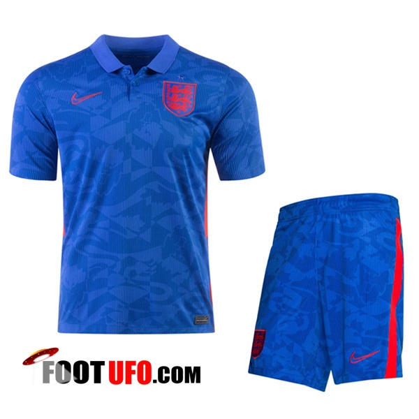11Foots-fr Ensemble Maillot Foot Angleterre Exterieur + Short 2020/2021