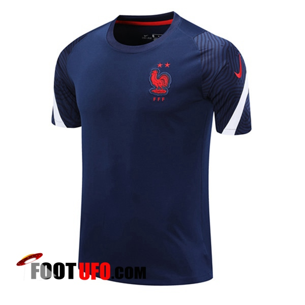 Training T-Shirts France Bleu Royal 2020/2021