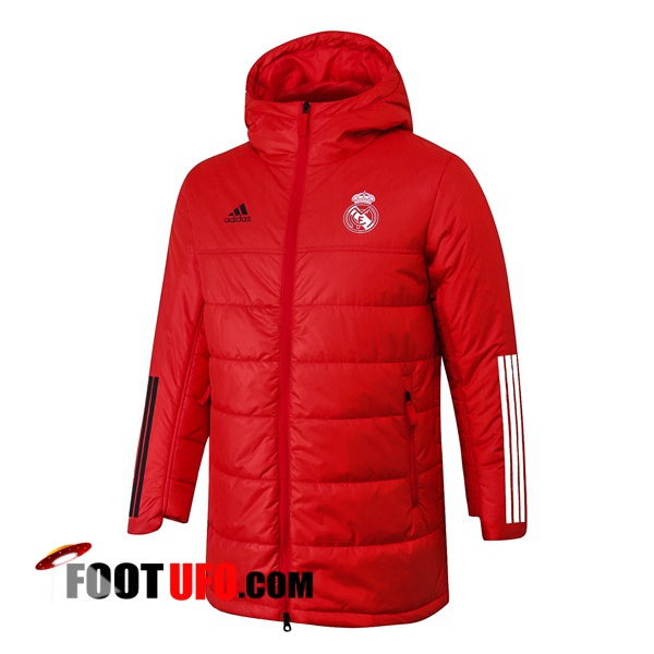 Doudoune Du Foot Real Madrid Rouge 2020/2021