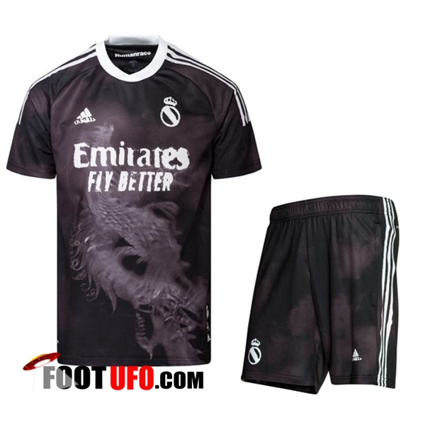 11Foots-fr Ensemble Maillot de Foot Real Madrid Race Humaine x Pharrell + Short 2021