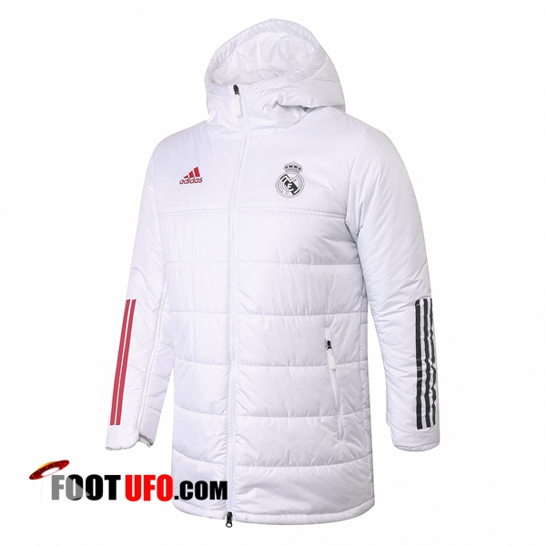 Doudoune Du Foot Real Madrid Blanc 2020/2021