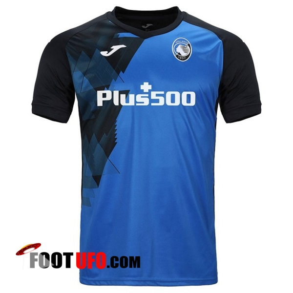 Training T-Shirts Atalanta Bleu/Noir 2020/2021