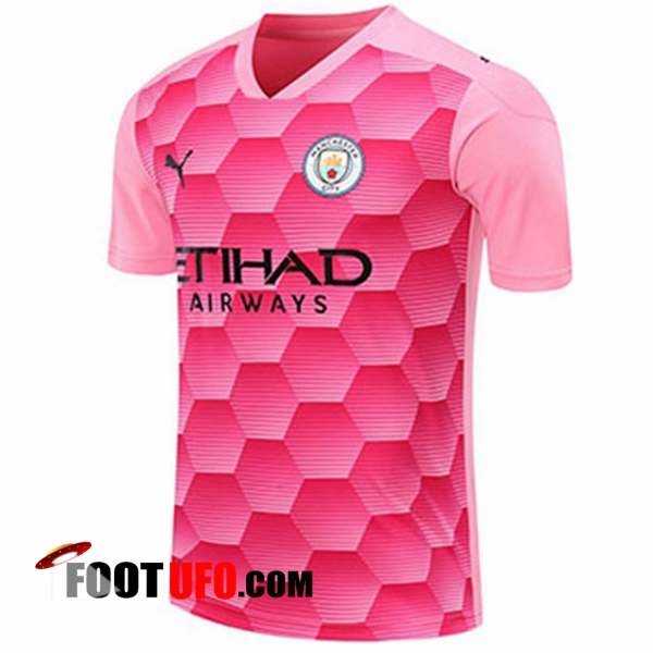 11Foots-fr Maillot Manchester City Gardien De But Rouge 2020/2021