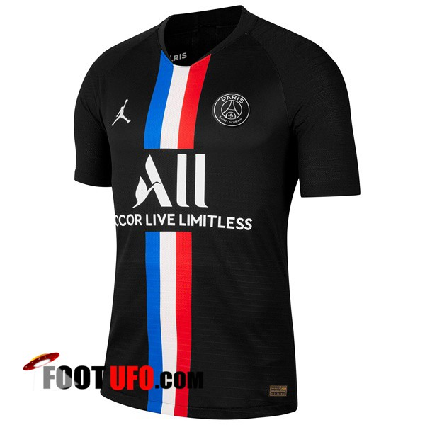Maillot de Foot Paris PSG X Jordan Quatrieme 2019/2020