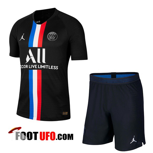 Maillot de Foot Paris PSG X Jordan Enfants Quatrieme 2019/2020
