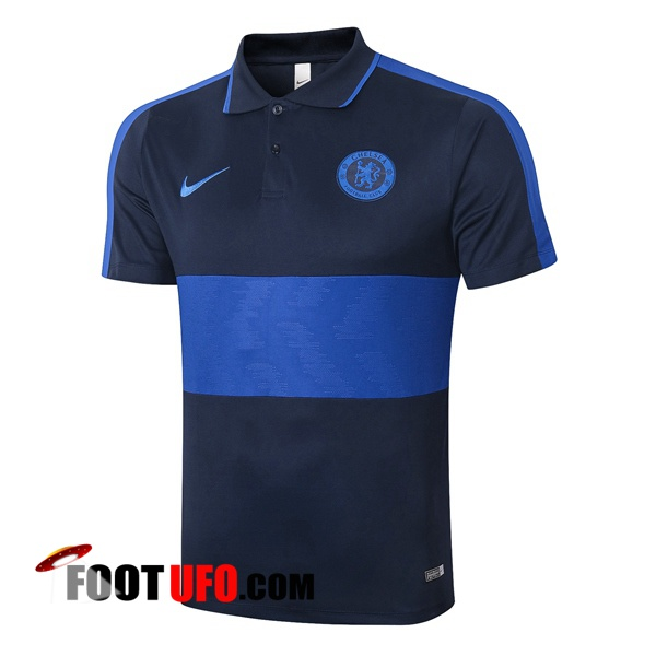 Polo Foot FC Chelsea Bleu Royal 2020/2021