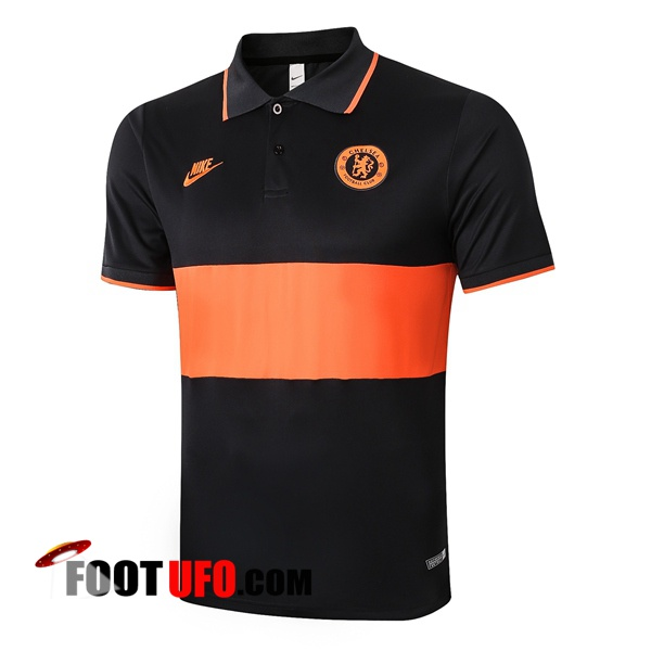 Nouveaux: 11Foots-fr Polo Foot FC Chelsea Orange 2020/2021