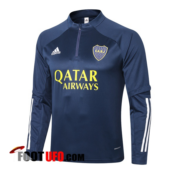 Sweatshirt Training Boca Juniors Bleu Royal 2020/2021