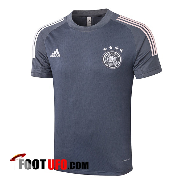 Training T-Shirts Allemagne Gris Fonce 2020/2021