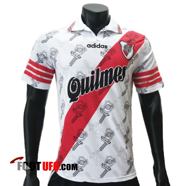 Retro: 11Foots-fr Maillot de Foot River Plate Domicile 1996
