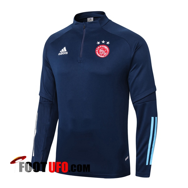 Sweatshirt Training AFC Ajax Bleu Royal 2020/2021