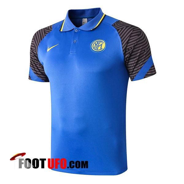Polo Foot Inter Milan Bleu 2020/2021