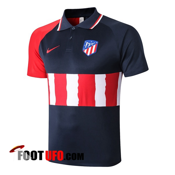 Nouveaux: 11Foots-fr Polo Foot Atletico Madrid Bleu Royal 2020/2021