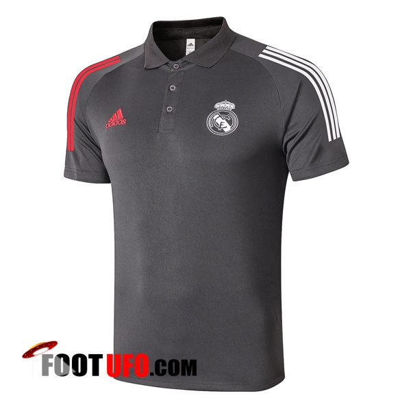 Polo Foot Real Madrid Gris 2020/2021