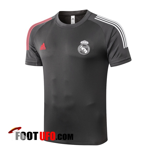 Training T-Shirts Real Madrid Gris 2020/2021