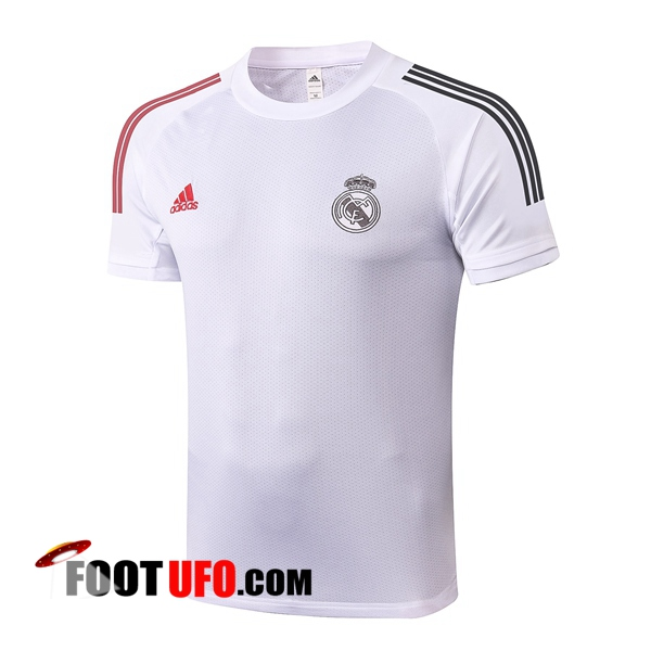 Nouveaux: 11Foots-fr Training T-Shirts Real Madrid Blanc 2020/2021