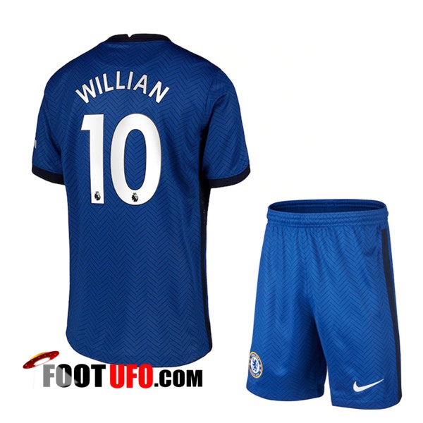 11Foots-fr Maillot de Foot FC Chelsea (Willian 10) Enfants Domicile 2020/2021