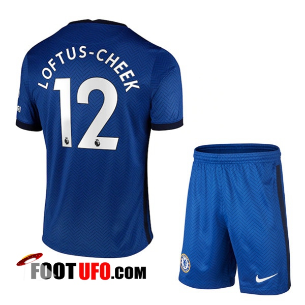 11Foots-fr Maillot de Foot FC Chelsea (Loftus Cheek 12) Enfants Domicile 2020/2021
