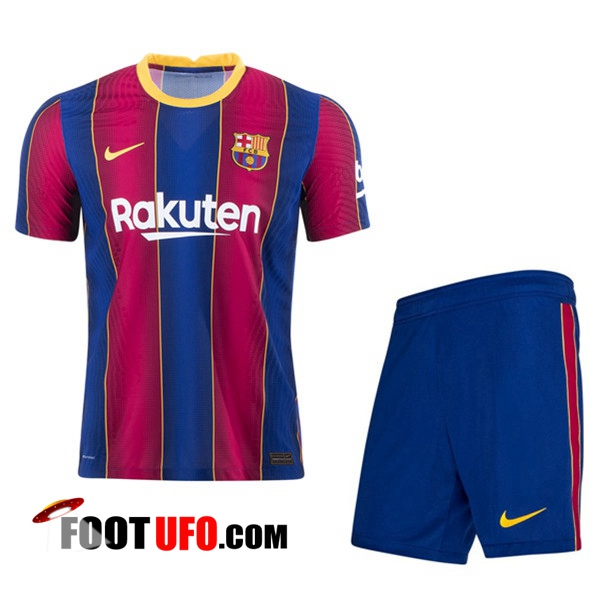 Ensemble 11Foots-fr Maillot de Foot FC Barcelone Domicile + Short 2020/2021