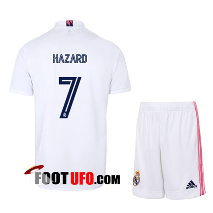 Maillot de Foot Real Madrid (HAZARD 7) Enfants Domicile 2020/2021