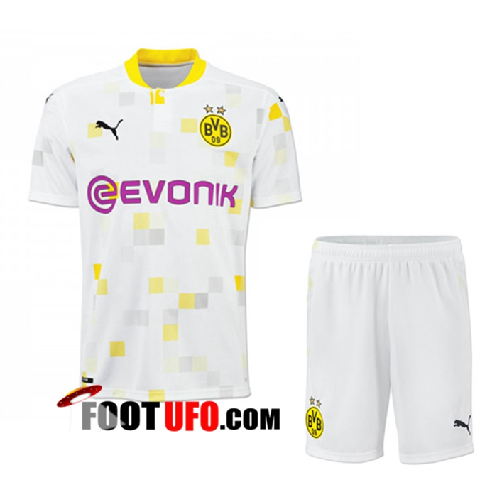 Ensemble 11Foots-fr Maillot de Foot Dortmund BVB Third + Short 2020/2021