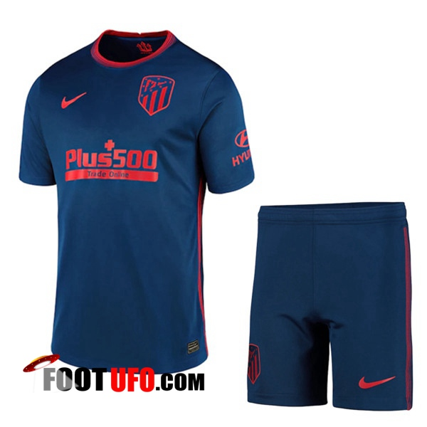11Foots-fr Maillot de Foot Atletico Madrid Enfant Exterieur 2020/2021