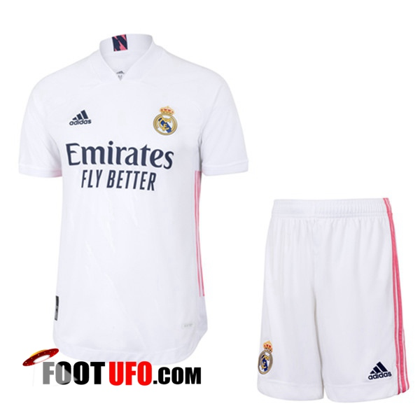 11Foots-fr Maillot de Foot Foot Real Madrid Domicile + Short 2020/2021