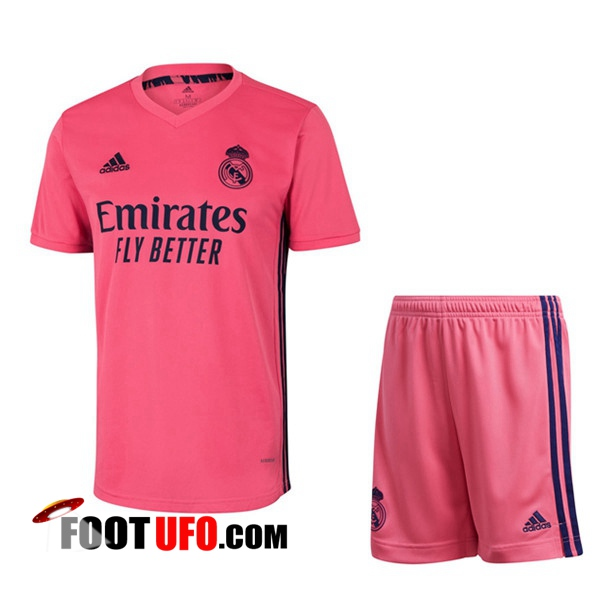 11Foots-fr Maillot de Foot Foot Real Madrid Exterieur + Short 2020/2021