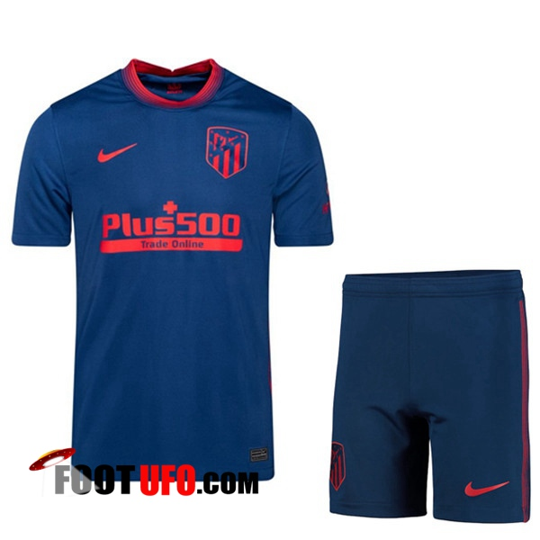11Foots-fr Maillot de Foot Foot Atletico Madrid Exterieur + Short 2020/2021