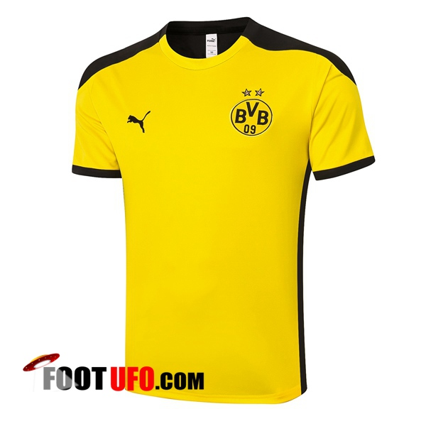 Training T-Shirts Dortmund BVB Jaune 2020/2021