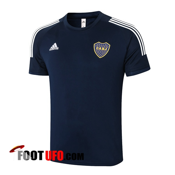 Nouveaux: 11Foots-fr Training T-Shirts Boca Juniors Bleu Royal 2020/2021