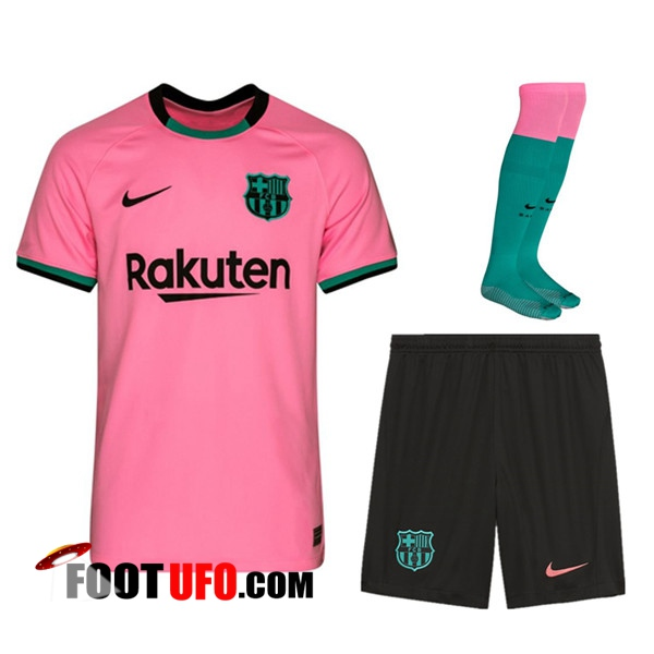Ensemble Maillot Foot FC Barcelone Third (Short+Chaussettes) 2020/2021
