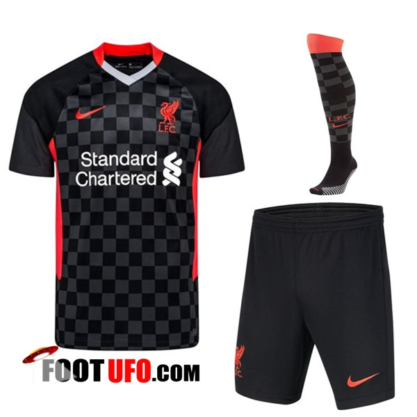 Ensemble Maillot Foot FC Liverpool Third (Short+Chaussettes) 2020/2021