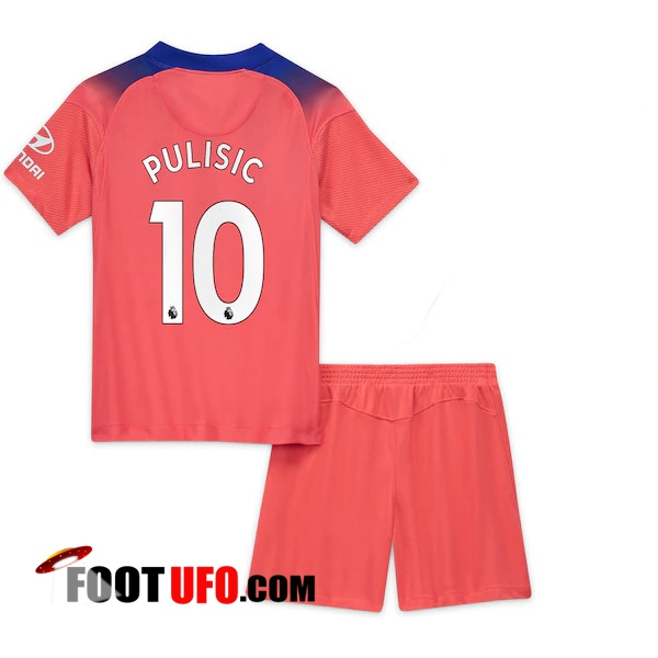 11Foots-fr Maillot de Foot FC Chelsea (Pulisic 10) Enfants Third 2020/2021
