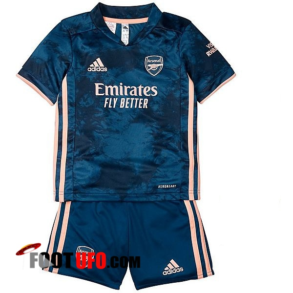 11Foots-fr Maillot de Foot Arsenal Enfant Third 2020/2021